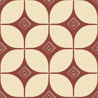 Blokuj nadruk. geometryczny abstrakcyjny wzór bez szwu. styl retro. rocznika ilustracji wektorowych