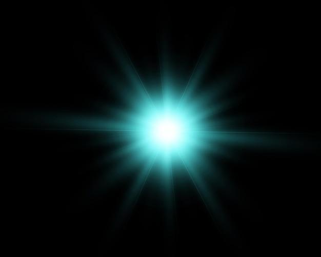 Błysk oświetlenia shine