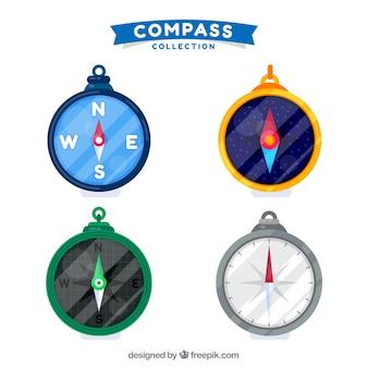 Błyszcząca kolekcja kompasu