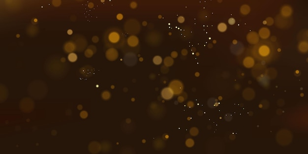 Błyszczące cząsteczki magicznego pyłu wróżki koncepcja abstrakcyjne świąteczne tło