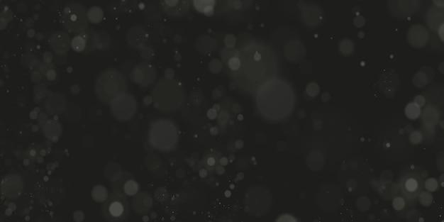 Błyszczące cząsteczki magicznego tła czarodziejskiego pyłu