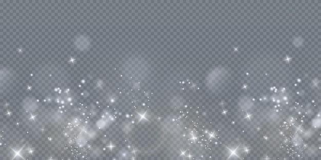 Błyszczące drobinki czarodziejskiego pyłu