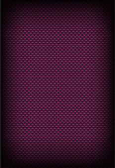 Błyszczące różowe i ciemnoszare tło z włókna węglowego