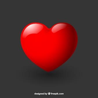 Błyszczące serce