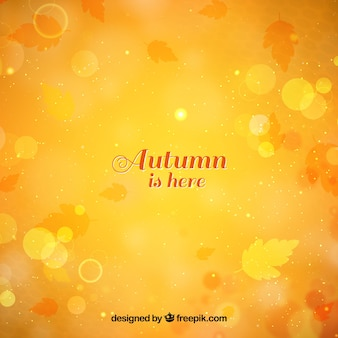 Błyszczące tło jesienią