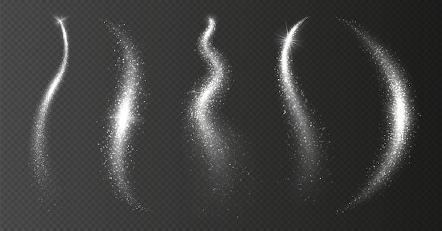 Błyszczący gwiezdny pył
