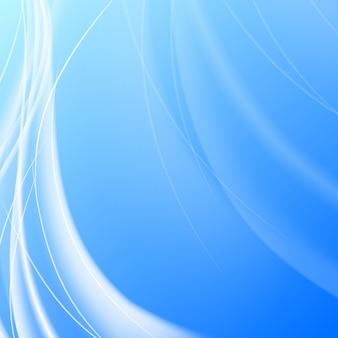 Błyszczący niebieski przepływ