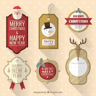 Boże Narodzenie Tagi Collection