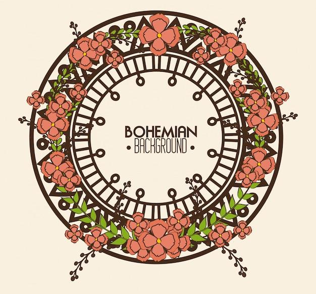 Bohemian bacground design