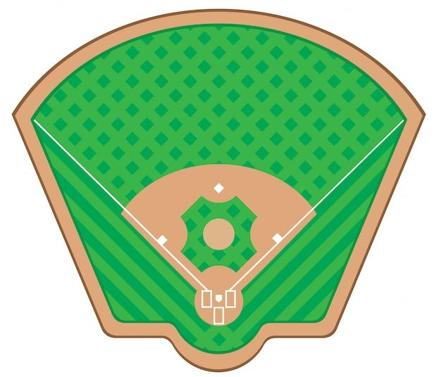 Boisko do gry w baseballa