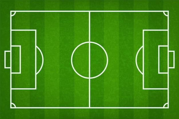 Boisko piłkarskie lub boisko do piłki nożnej.