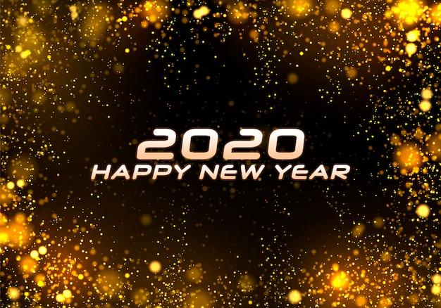 Bokeh blask boże narodzenie 2020, uroczysty