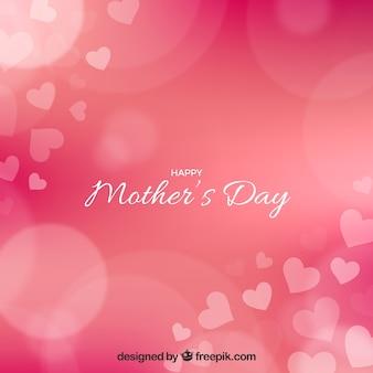 Bokeh tło matki dzień