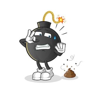 Bomba ze śmierdzącymi odpadami.