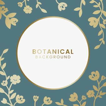 Botaniczny kwiatowy ilustracji