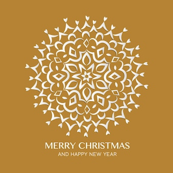 Boże narodzenie i szczęśliwego nowego roku kartkę z życzeniami
