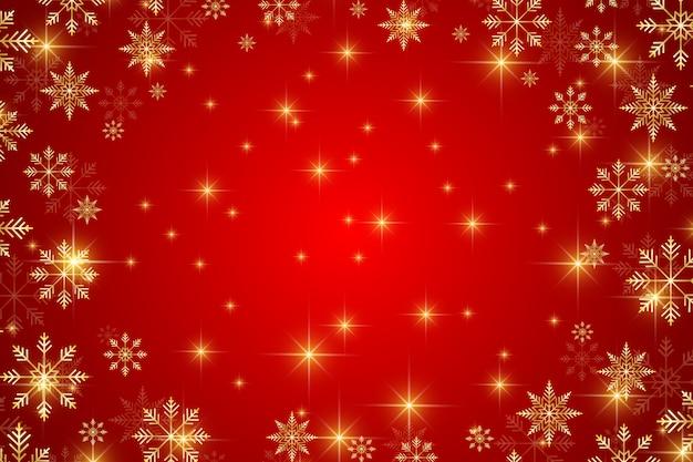 Boże narodzenie i szczęśliwego nowego roku tło z płatki śniegu. ilustracja.