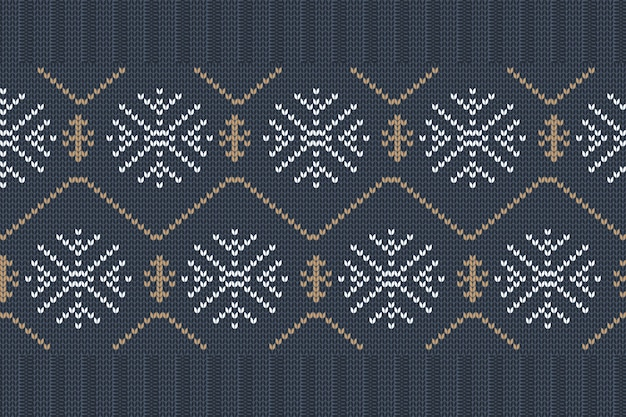 Boże narodzenie i zima wzór dziania na drutach, projekt swetra. wzór.