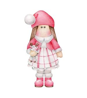 Boże narodzenie lalka