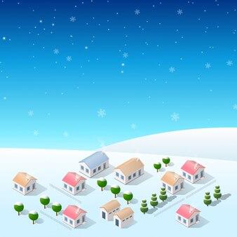 Boże narodzenie nowy rok śnieg
