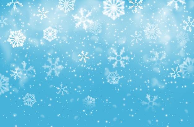 Boże narodzenie płatki śniegu