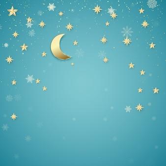 Boże narodzenie tło noc