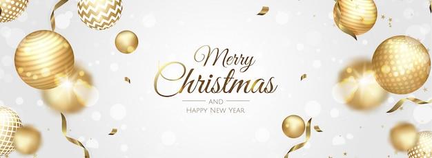 Boże narodzenie tło wektor świąteczna wyprzedaż, świąteczny baner internetowy.