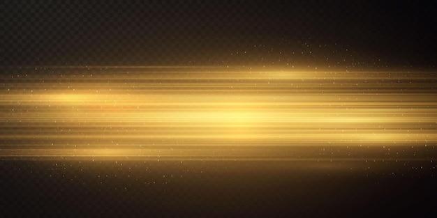 Boże narodzenie tło wykonane ze złotych poziomych linii boże narodzenie złota tekstura