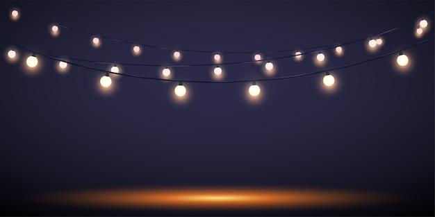 Boże narodzenie wakacje światła tło