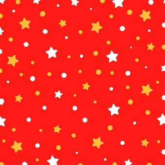 Boże narodzenie wektor wzór z gwiazdami. ilustracja wektorowa