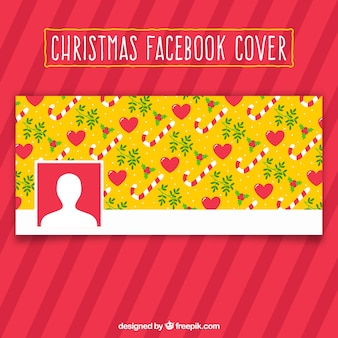 Boże narodzenie wzór - okładka na facebook