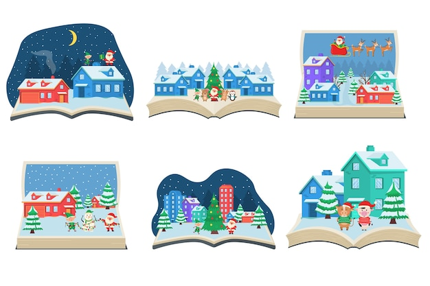 Bożonarodzeniowa bajka wychodząca z książki