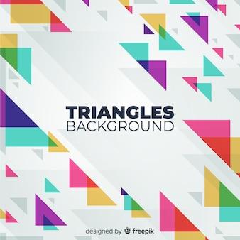 Brackground trójkąta