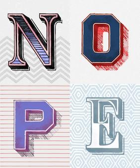 Brak typografii