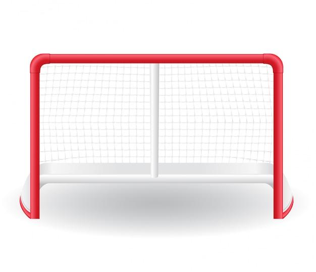 Bramkarz bramki do gry w hokeja.