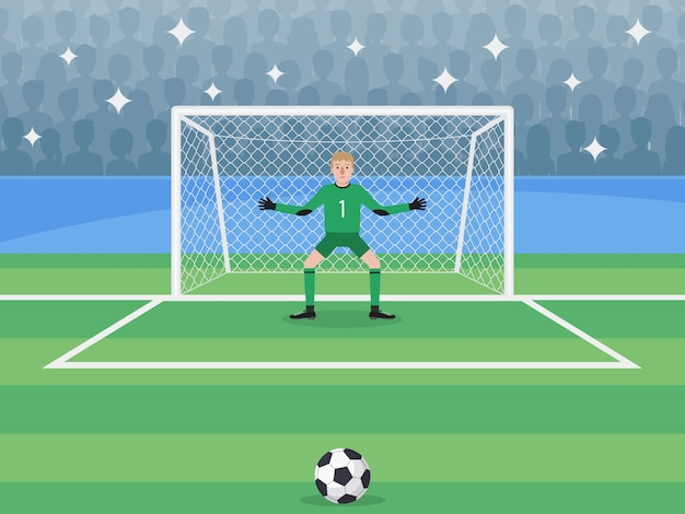 Bramkarz w obszarze gry