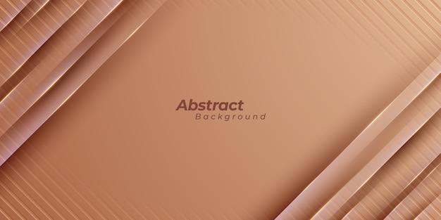 Brązowe kształty geometryczne tło.