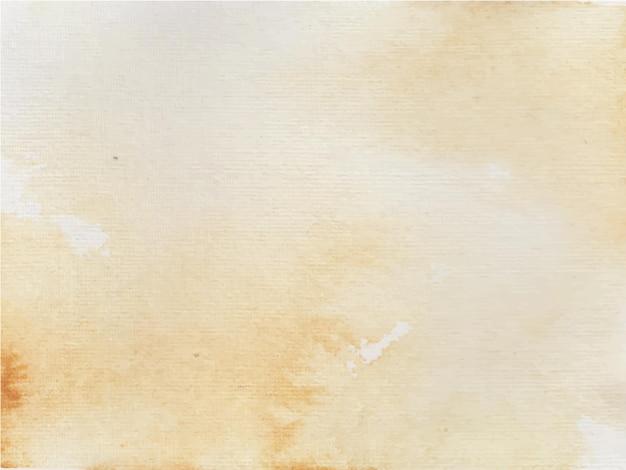Brązowe tło akwarela do dowolnych celów. streszczenie tło akwarela.