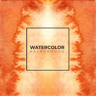 Brązowe tło akwarela tekstury, farby ręczne. rozpryskiwanie kolorów