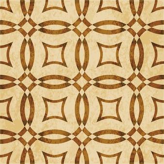 Brązowy akwarela tekstury, wzór, krzyż rama okrągła geometria