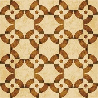 Brązowy akwarela tekstury, wzór, kwiat okrągły spirala geometria