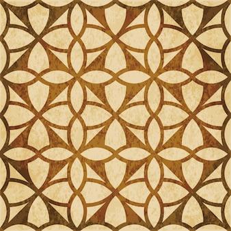 Brązowy akwarela tekstury, wzór, okrągła krzywa geometria krzyż rama