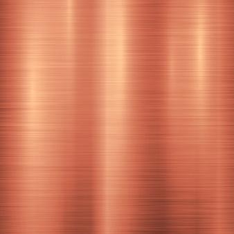 Brązowy metal technologia tło
