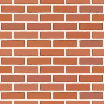 Brązowy mur z cegły