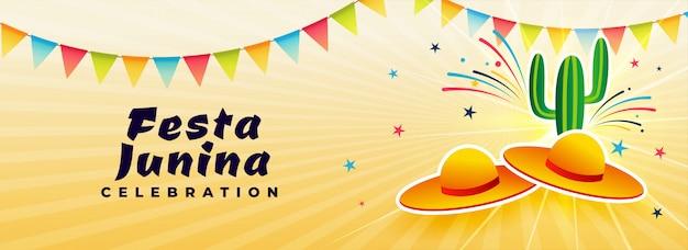 Brazylijski czerwiec festiwal festa junina design