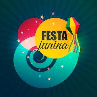 Brazylijski june część festiwalu festa junina