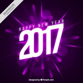 Bright fioletowe tło, nowy rok