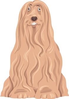 Brodata collie psa kreskówka