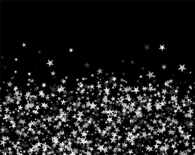 Brokatowy wzór wykonany z gwiazd