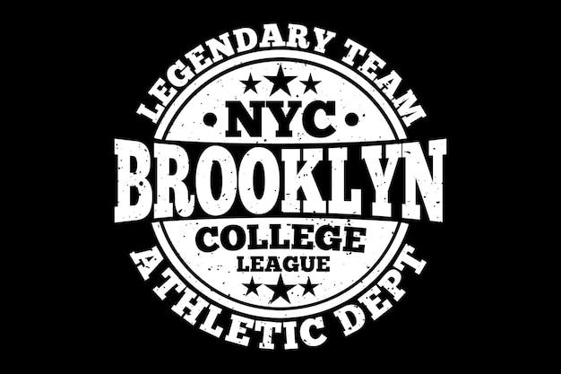 Brooklyn lekkoatletyczny legendarny